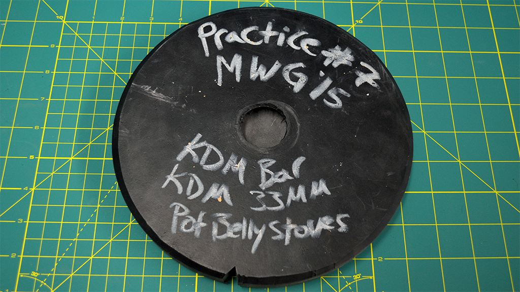MWG - Website - Blog - Workshop - Spin Casting - The Basics - Finished Mold Closed