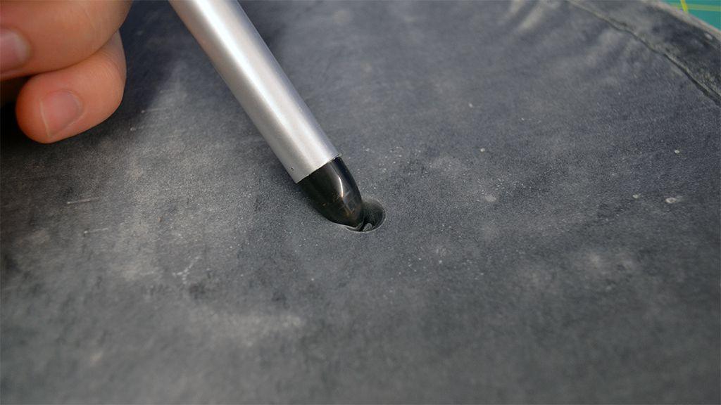 MWG - Website - Blog - Workshop - Spin Casting - The Basics - Mold Blank w Pen