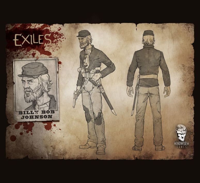 MWG - Exiles - Concept Art - Billy Bob Johnson