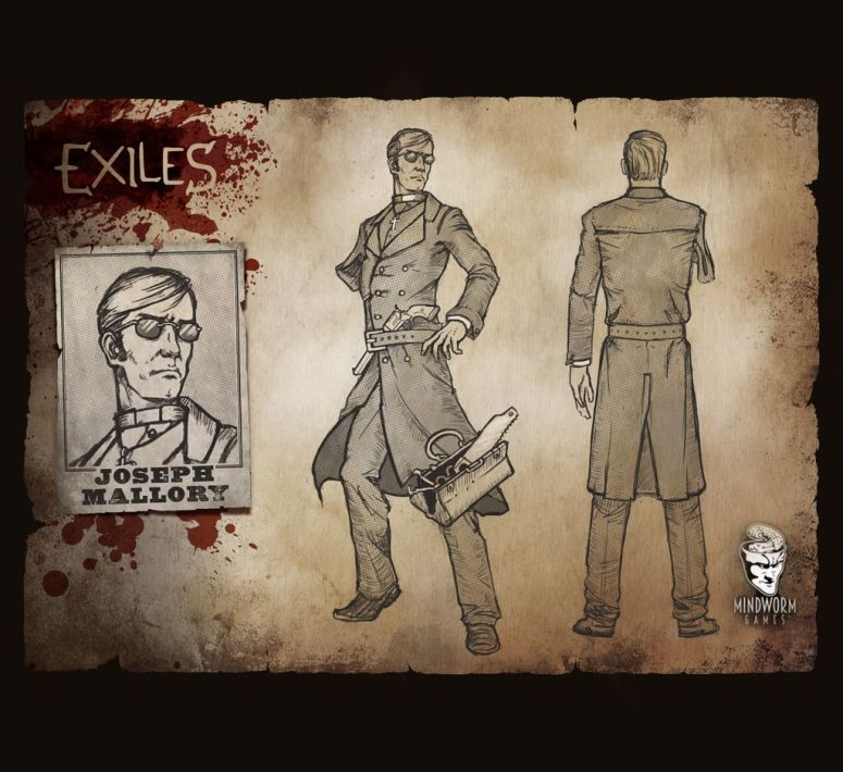MWG - Exiles - Concept Art - Father Mallory