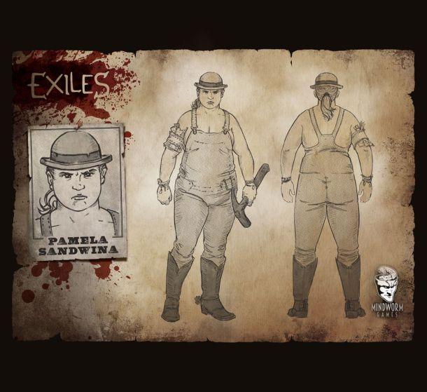 MWG - Exiles - Concept Art - Pam Sandwina