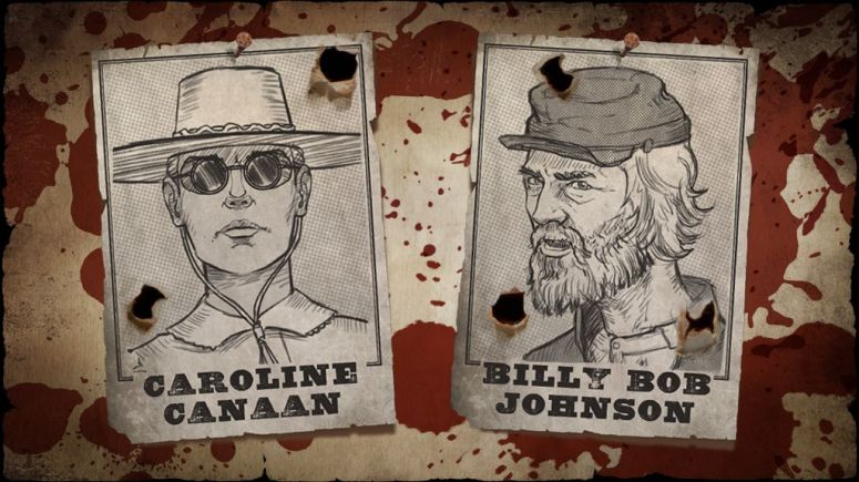 MWG - Website - Blog - Exiles - Exiles Game - Personas - Bandit Posters