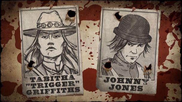 MWG - Website - Blog - Exiles - Exiles Game - Personas - Gunslinger Posters