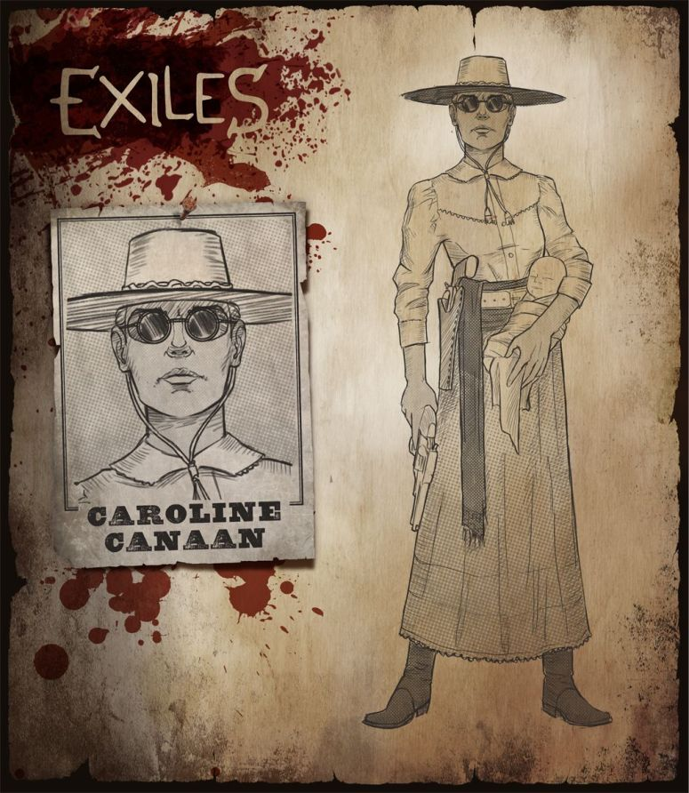 MWG - Website - Blog - Exiles - Personas - Persona Backgrounds - Caroline Canaan Character FULL