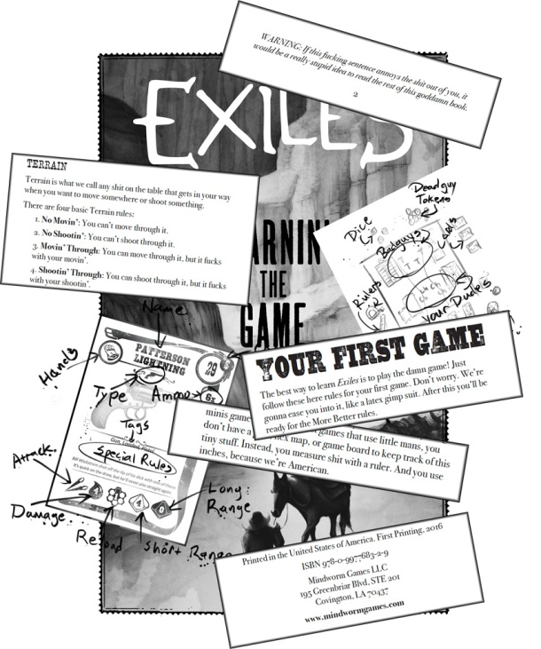 MWG - Exiles - Blog - Exiles - Learnin' the Game Teaser